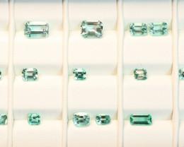 [No Oil] Panjshir Emerald Parcel 20pcs 11.91cts