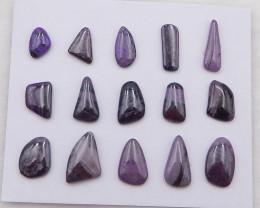 D2079 - 26cts Natural Sugilite Cabochons ,Handmade Gemstone ,Sugilite Stone