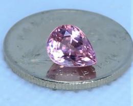 AAA Quality pink tourmaline gemstone 1.3ct RT001
