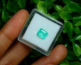 Muzo 1.08Ct Natural Colombian Emerald Neon Mint Green Beryl C2129