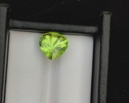 Top Grade 5.60 ct lovely Peridot Ring Size