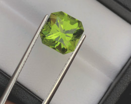 Top Grade 4.90 ct lovely Peridot Ring Size~M