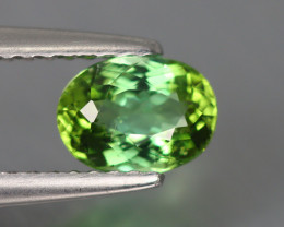 0.780 Cts Elbaite Mint Tourmaline 100% Natural Copper Bearing Unheated
