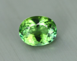 0.560 Cts Elbaite Mint Tourmaline 100% Natural Copper Bearing Unheated