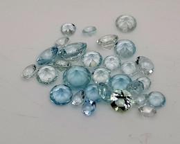 3.22Crt Aquamarine Lot Natural Gemstones JI67