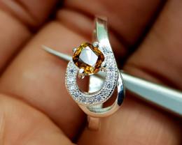 13Crt Bastnasite Color Change 925 Ring Natural Gemstones JI67
