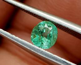 0.39Crt Afghani Emerald Natural Gemstones JI67