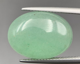 12.25 Cts Excellent Green Aventurine Cabochon. Aven-5287