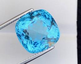 22.45 Carat Natural Stunning Swiss Blue Topaz