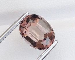 3.05Ct Natural Fancy Oval Cut  Scapolite From Afghanistan