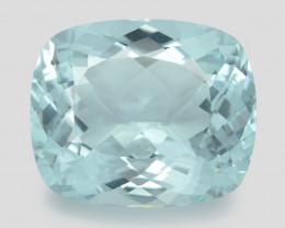 Aquamarine 16.06 Cts Unheated  Santa Maria Blue  Natural Gemstone