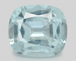 Aquamarine 5.24 Cts Unheated  Santa Maria Blue  Natural Gemstone
