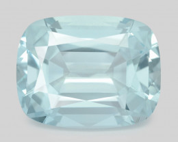 Aquamarine 16.38 Cts Unheated  Santa Maria Blue  Natural Gemstone