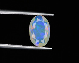 1.15 ct Ethiopian Opal with Blue & Green Fire
