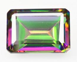 *NoReserve*Mystic Quartz 7.50 CTS Natural Aurora Borealis Gemstone