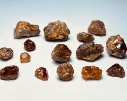 Amazing Natural color Spessartine Garnet Rough / Crystal max lot 103G/G