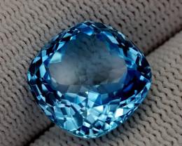 12.65CT BLUE TOPAZ BEST QUALITY GEMSTONE IIGC76