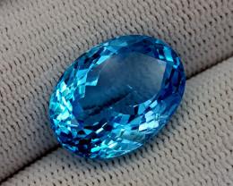 18.25CT BLUE TOPAZ BEST QUALITY GEMSTONE IIGC76