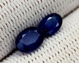 1.58CT BLUE SAPPHIRE HEAT BE BEST QUALITY GEMSTONE IIGC76
