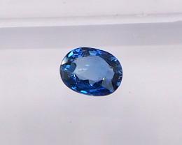 0.58ct Natural unheated blue sapphire