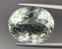 17.20 Cts Excellent Prasiolite/ Green Amethyst. Pra-0332