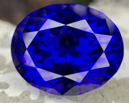 D block 33.67 carat Natural Tanzanite Gemstone.