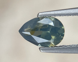 Lovely 1.2ct blue-yellow partisapphire