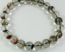 Natural Phantom Quartz Bracelet