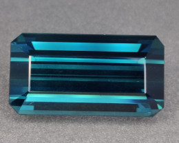 24.45 CTS FLAWLESS  NATURAL TOURMALINE INDICOLITE BLUE FLAWLESS