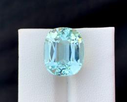 13.85 Carats Natural Aquamarine Gemstones