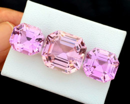 38.90 Carats Pink Color Kunzite Gemstone