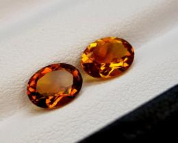 2.15Crt Madeira Citrine Natural Gemstones JI68