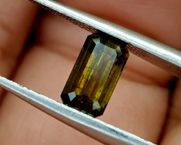 1.35Crt Rare Epidote Natural Gemstones JI68