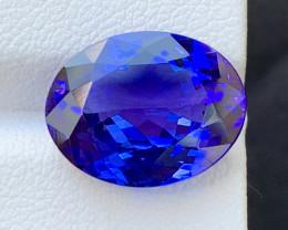 Top Grade 7.41 Cts Natural Tanzanite Gemstone nice color