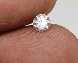 Certified $836 0.50cts  SI2 White Round Loose Diamond Brilliant