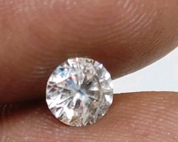 Cert $1727 Fiery 0.80 cts  SI3 White Loose Diamond Round  Natural