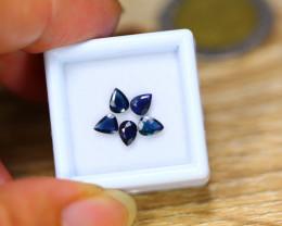 1.36ct Natural Blue Sapphire Heated Pear Cut Lot V7704