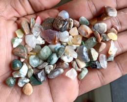 200 Ct Tumbled Gemstones Mix Lot 100% NATURAL AND UNTREATED VA653