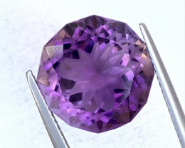 10.60 Carats Natural Amethyst Cut Stone from Africa
