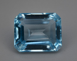 Natural Blue Topaz 7.14  Cts.  Top Quality