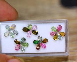 5.03ct Natural Fancy Color Tourmaline Pear Cut Lot B4189