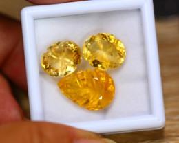 21.33ct Natural Yellow Citrine Fancy Cut Lot B4195