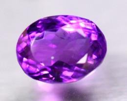 7.74ct Natural Purple Amethyst Oval Cut Lot B4196