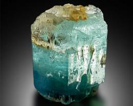 Aquamarine Crystal With Complex Terminations From Shiga Pakistan