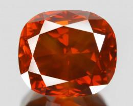 Diamond 1.34 Cts Sparkling Fancy Intense Red Natural Diamond