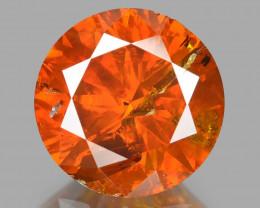 Diamond 1.07 Cts Sparkling Fancy Intense Orange Red Natural Diamond