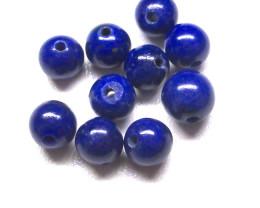 4.23cts Top Lapis Lazuli Round Beads