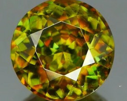 *Bidding Starts $15 NR* Fiery Sphene with High Dispersion 0.83Ct