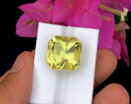 Top Grade 21.95 ct lovely Citrine Ring Size~RS