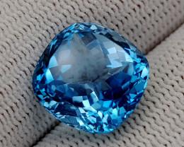 12.95CT BLUE TOPAZ BEST QUALITY GEMSTONE IIGC77